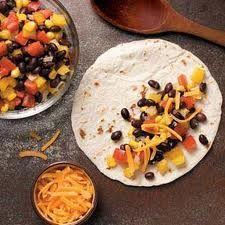 Black Bean Quesadillas   Food   Pinterest