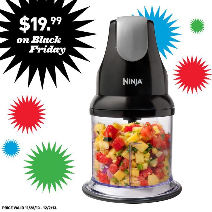 We're gearing up for Black Friday with awesome deals like this Ninja blender!