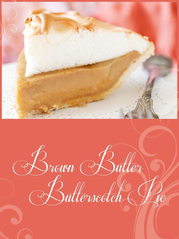 brown butter butterscotch pie | meringue | Pinterest