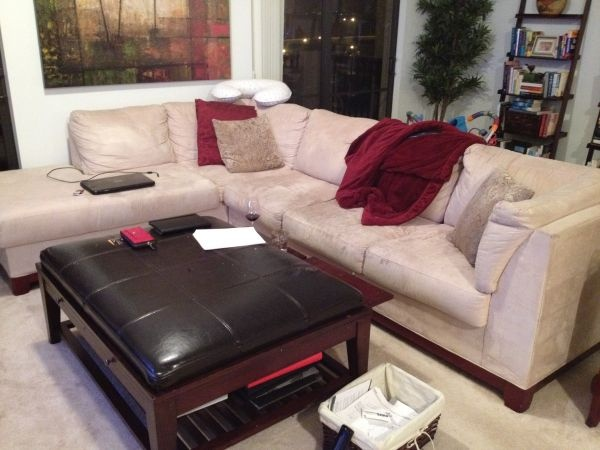 Sectional couch set up living room pinterest