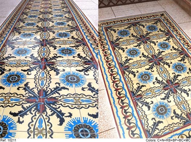 Mosaic Del Sur Cement Tiles For The Home Pinterest