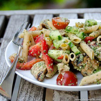 chicken tikka pasta salad | Recipes | Pinterest