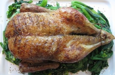 Duck With Honey, Soy, And Ginger Recipe — Dishmaps