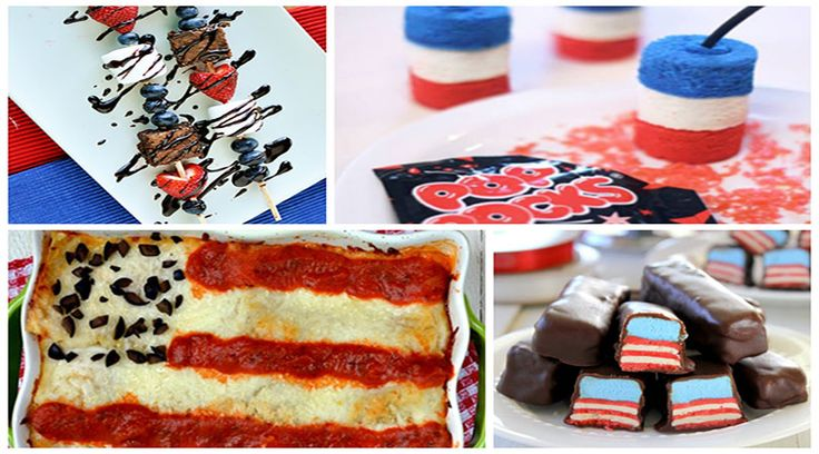 4th of july food on pinterest