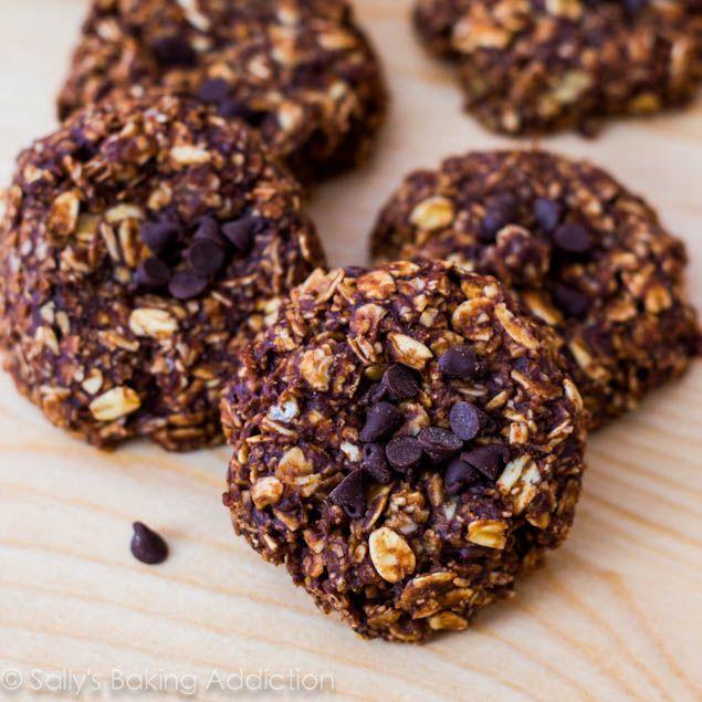 Skinny Chocolate Peanut Butter No Bake Cookies by ...