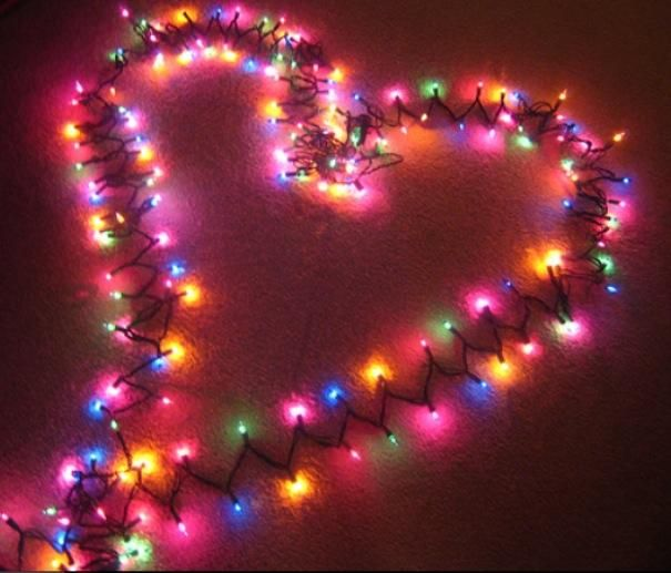 valentine day led lights