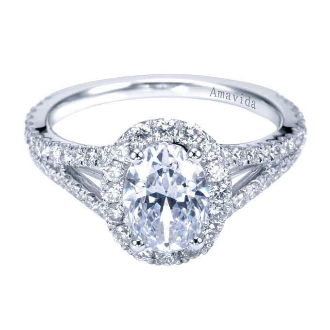 Oval Halo Diamond Engagement Ring ohh some day