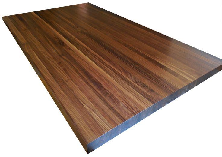 walnut butcher block countertop edge grain kitchen