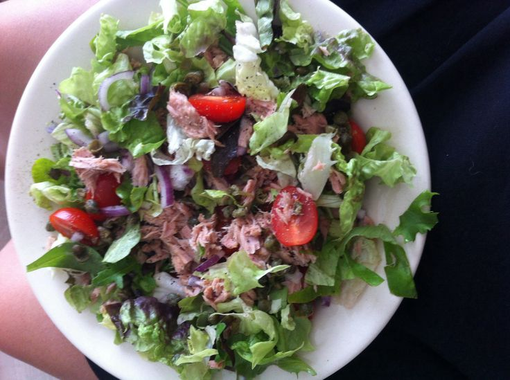 Tuna Salad Lettuce Wraps With Capers And Tomatoes Recipe ...