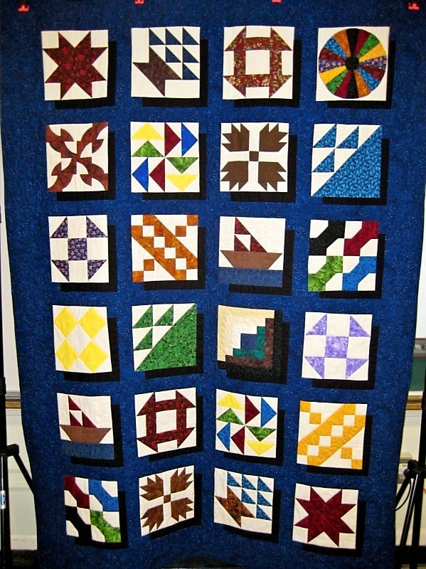 Quilt Patterns Used During The Underground Railroad : Underground Railroad Quilt 2012 school Pinterest