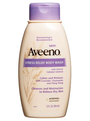 Aveeno Stress Relief Body wash via instyle.com