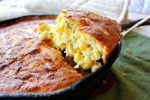 The Bojon Gourmet: Sweet Corn Cheddar Spoonbread yummy-recipes