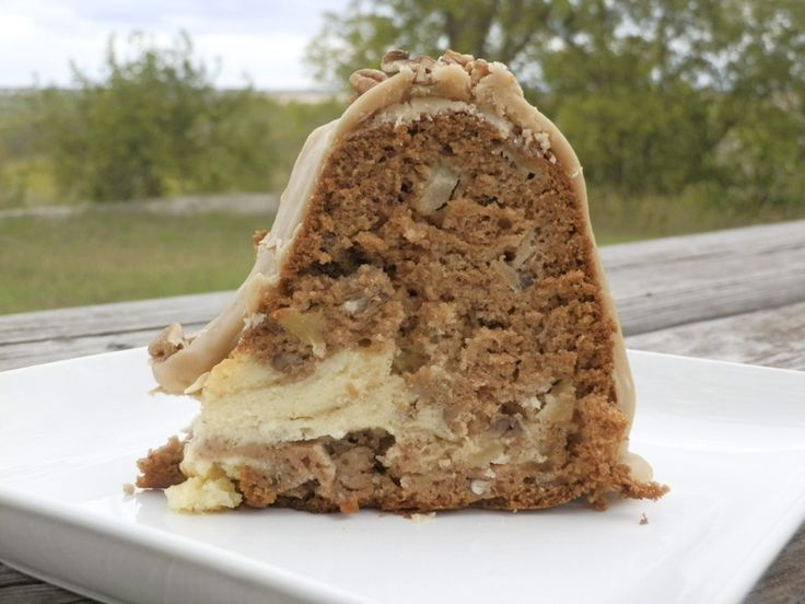 Gluten Free Apple Cream Cheese Bundt Cake | Hello Gluten Free