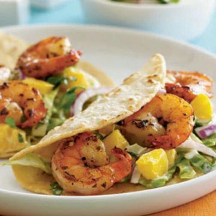 Shrimp Tacos | Crazy for Tacos | Pinterest