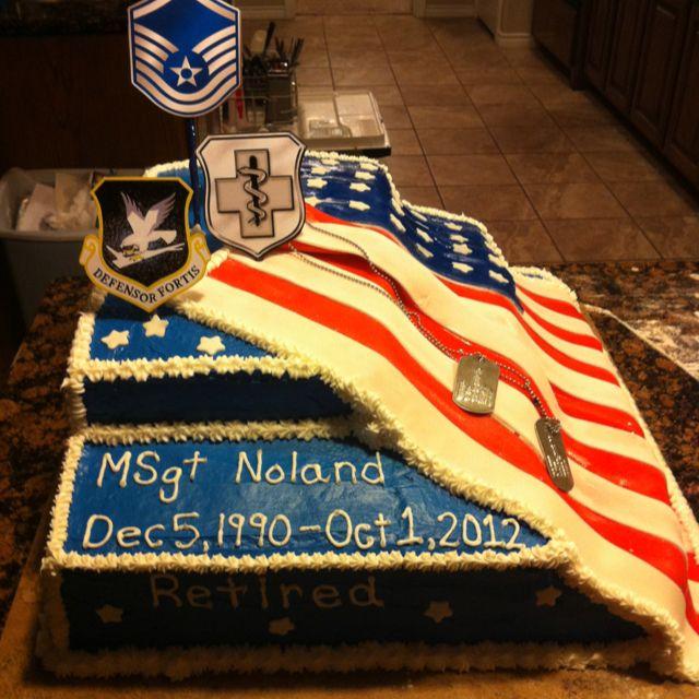 Army Retirement Cake Images : Military Retirement cake ideas Pinterest