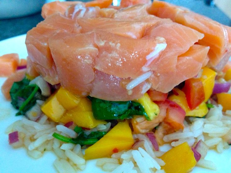 Tropical Salmon Ceviche | Recipes to try this week | Pinterest