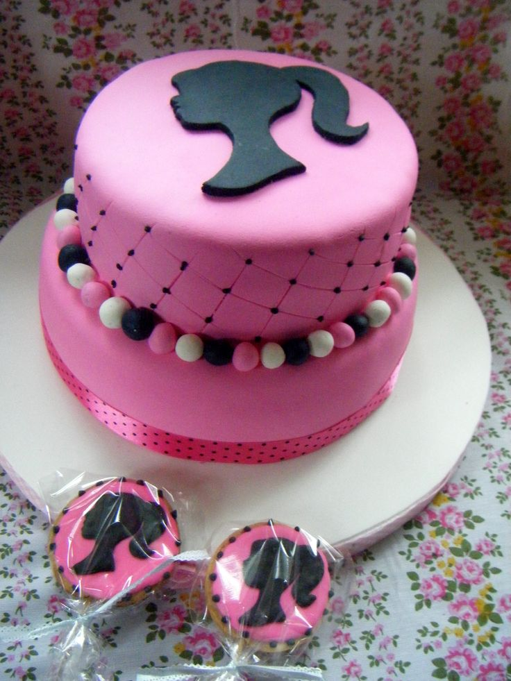 Not a cupcake but I LOVE Barbie! Had to pin this!