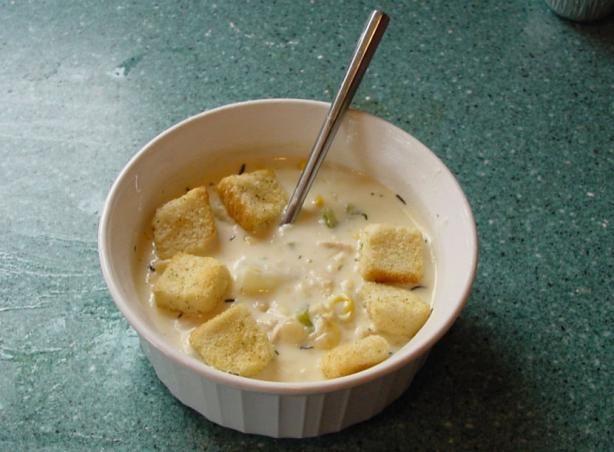 Creamy Turkey-Corn Chowder. Photo by astronomer