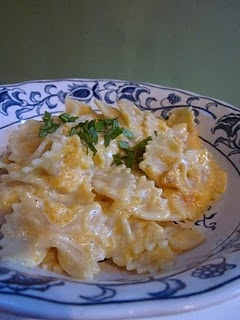 Butternut Squash Pasta--a fall food you'll fall for