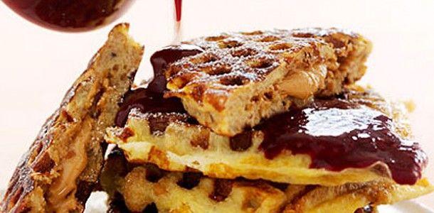 french toast waffles | DASH Diet | Pinterest
