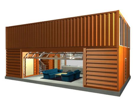 A small but very cool container home