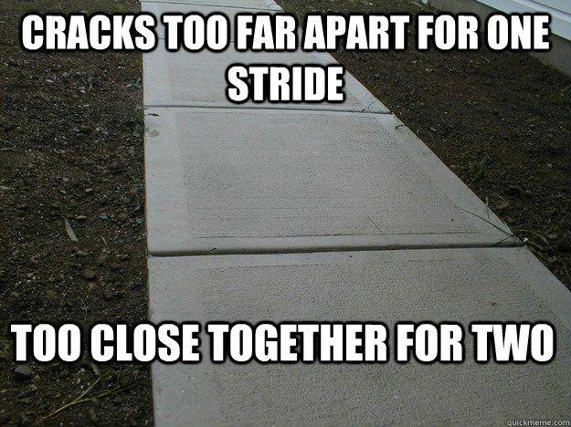 my life walking to class!!