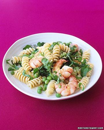 fusilli with shrimp and peas | Pasta | Pinterest