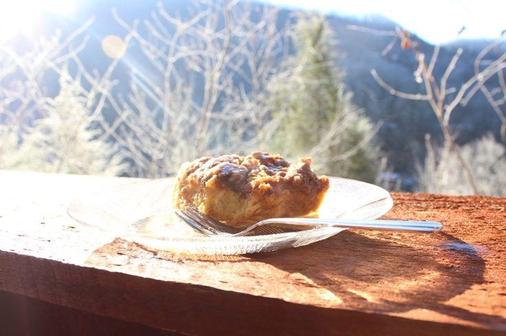 ... breakfast, overnight baked french toast! #christmas #recipe #nature