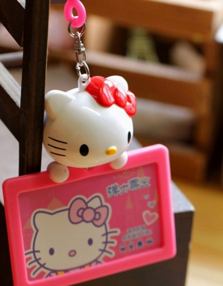 Lovely Hello Kitty Card Protective Case