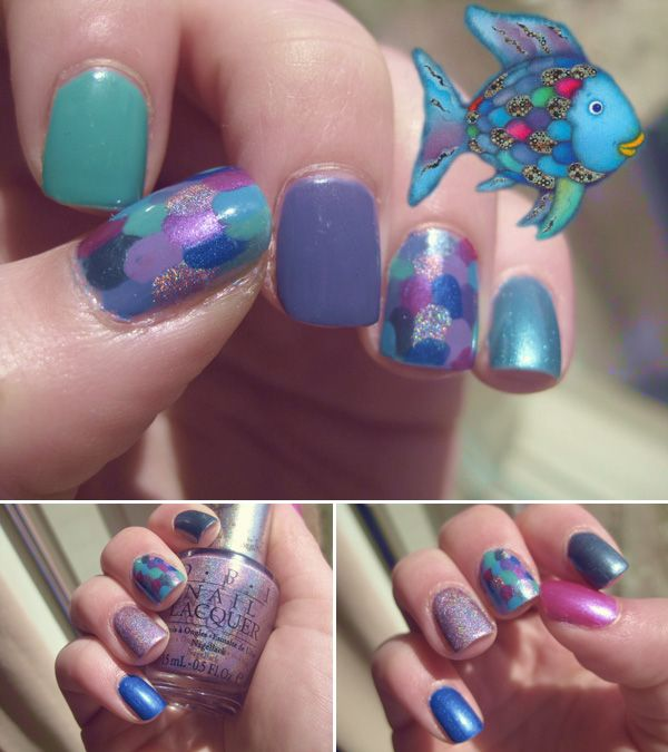 download this Rainbow Fish Nails Opi Original picture