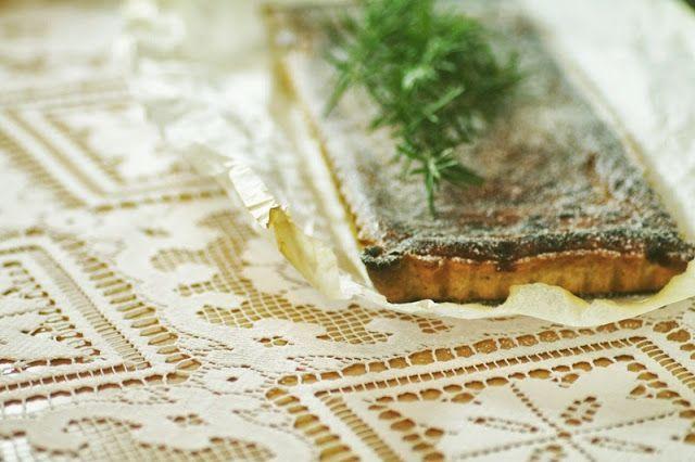 Blood Orange and Rosemary Tart | Sweet Treats | Pinterest