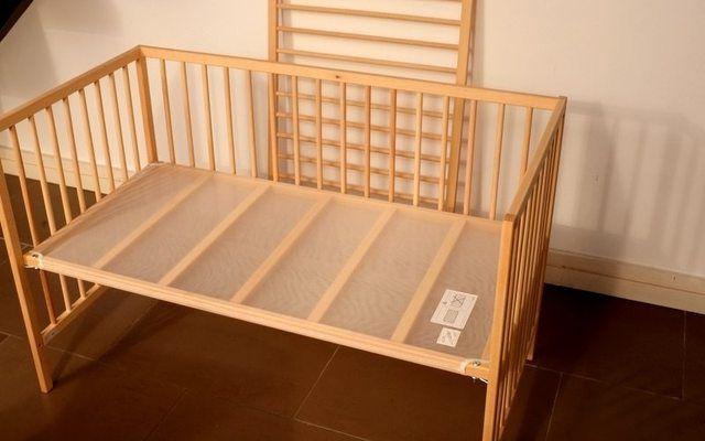 Co Sleeper Ikea Sniglar Crib Hack Baby Pinterest