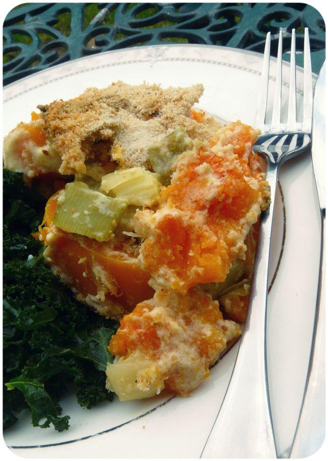 Vegetarian Butternut Squash And Leek Paella Recipe — Dishmaps
