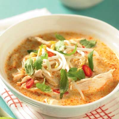 Quick chicken laksa - Popular South-East Asian noodle soup | Find ...