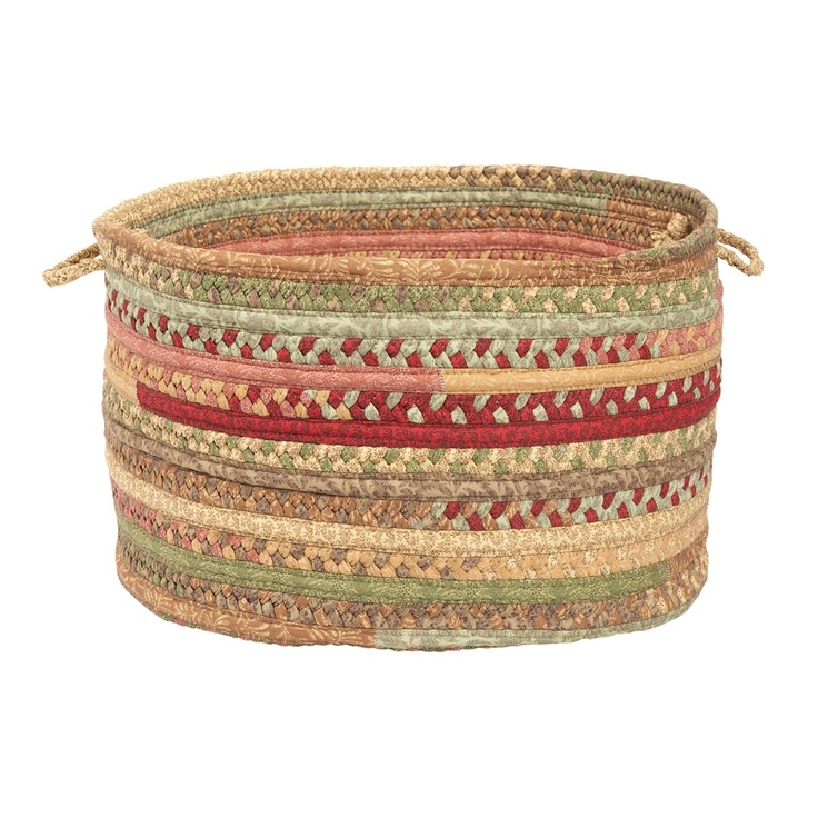 Pretty Quilted Basket.