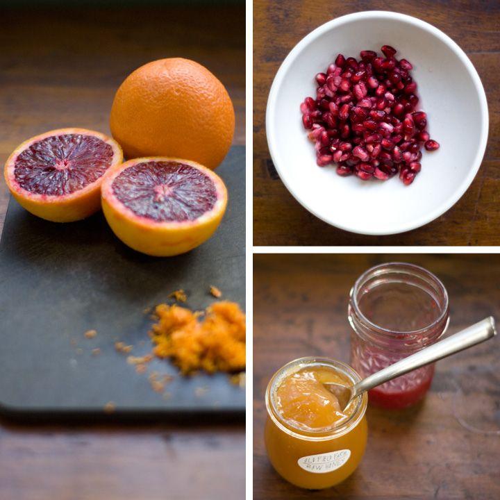 Blood Orange + Pomegranate Pancakes | Breakfast + Brunch | Pinterest