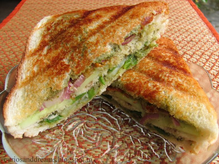Grilled Bombay Sandwich | Yum yum yummy | Pinterest