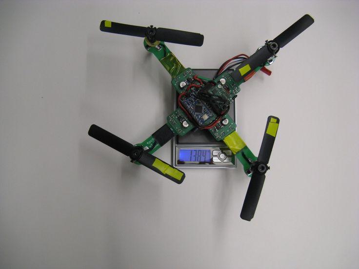 Arduino based Quadrotor on a PCB