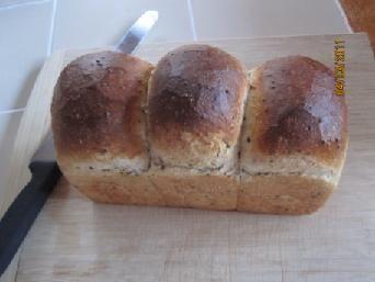 Goma shokupan ( Sesami loaf) | The Fresh Loaf