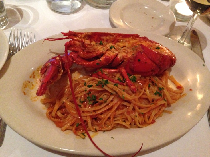 Lobster pasta | Pasta | Pinterest