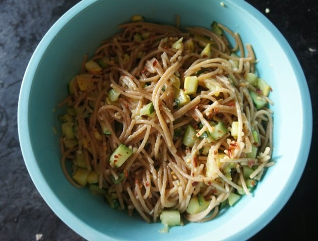 Linguine Puttanesca With Chickpeas Recipes — Dishmaps