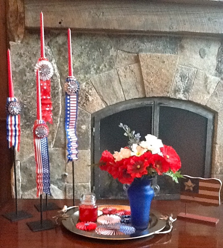 Patriotic Home Decor Patriotic Home Party Pinterest