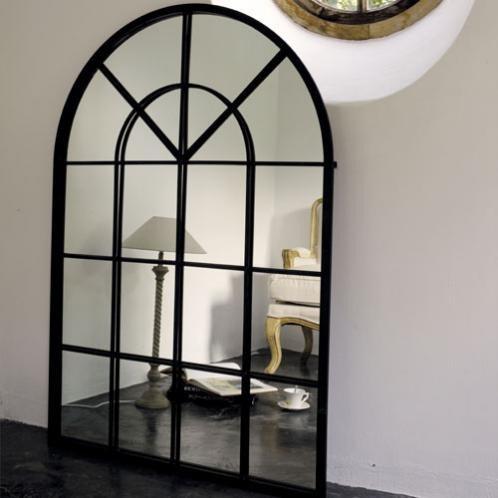 Miroir fen tre decor ideas pinterest for Miroir pour entree de maison