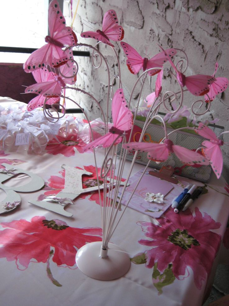 pink and green baby shower parties pinterest