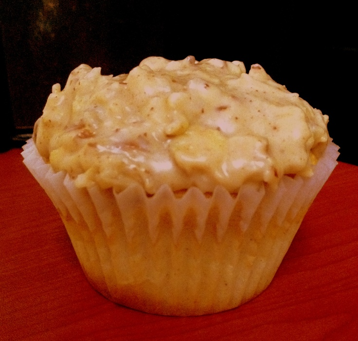 Butter Banana Rum Cupcake with a coconut pecan brown sugar frosting ...