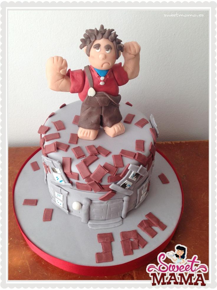 Wreck it Ralph cake. #wreckitralph #cake www.sweetmama.es