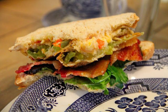 ... : 4th of July: Fried Green Tomato BLT with Pimiento Cheese Recipes