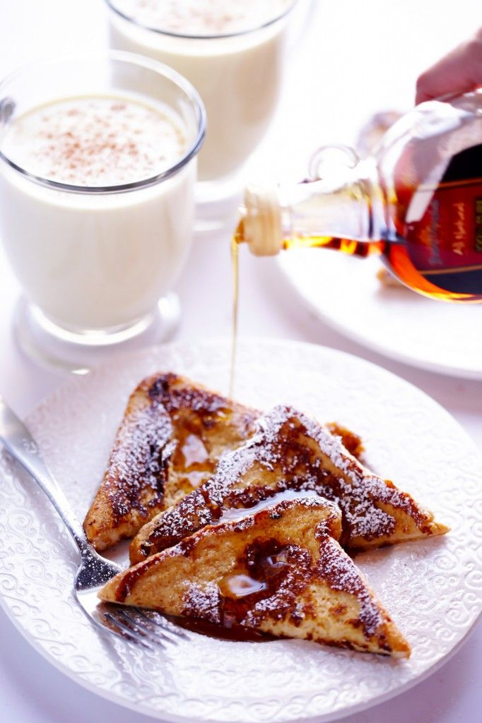 Eggnog French Toast | Christmas | Pinterest