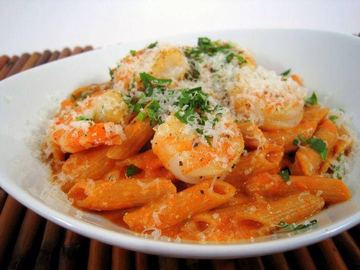 Penne alla Vodka with Shrimp | food | Pinterest