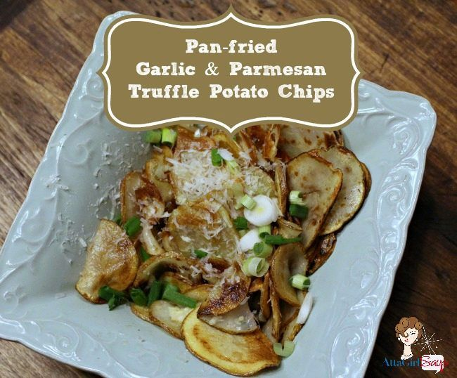 Garlic & Parmesan Potato Chips (guest project) ~ Madigan Made { simple ...